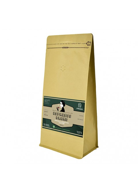 STRADA Espresso blend coffee, 1kg